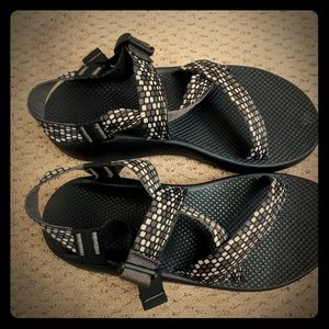 Black Chaco Z/1 Sandals